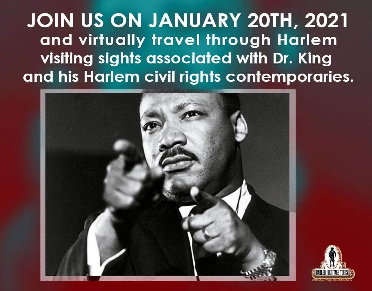 Dr. Martin Luther King Jr. Virtual Harlem Tour