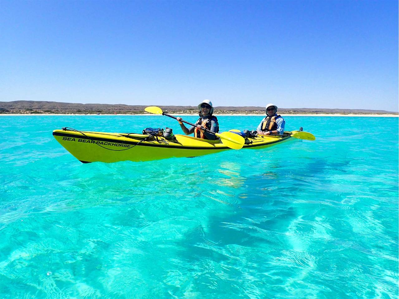3 Day Reef & Beach | 3-Day Sea Kayak, Snorkel and Beach Camp Tour