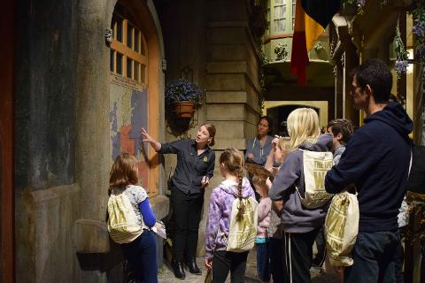 Children's Tours 10.45 am Daily (School Holidays)