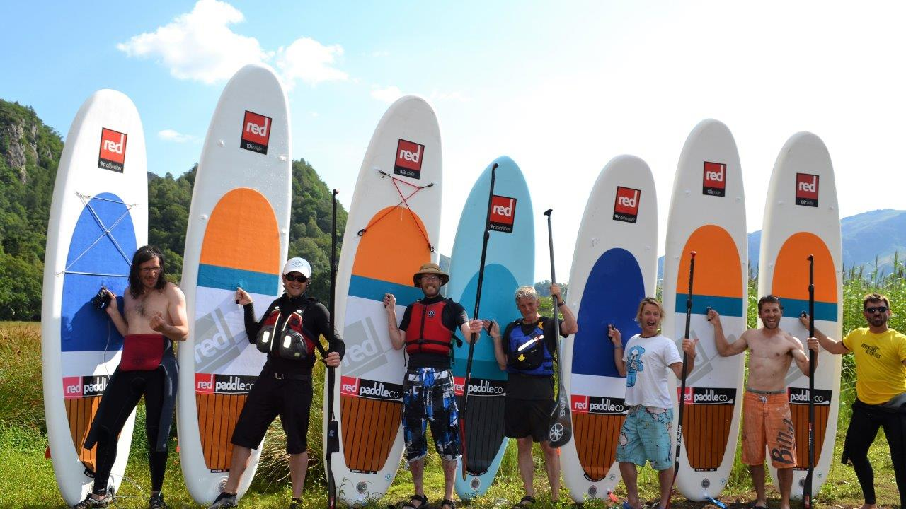 Coniston Water GROUP SUP Intro Lesson (Half day)