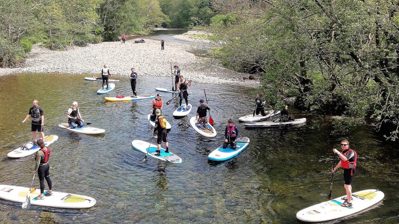 Group SUP Intro Lesson (Half day) Derwentwater