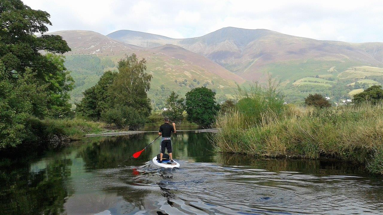 SUP Intro &  SUPfari River Tour (Derwentwater) (Half Day)