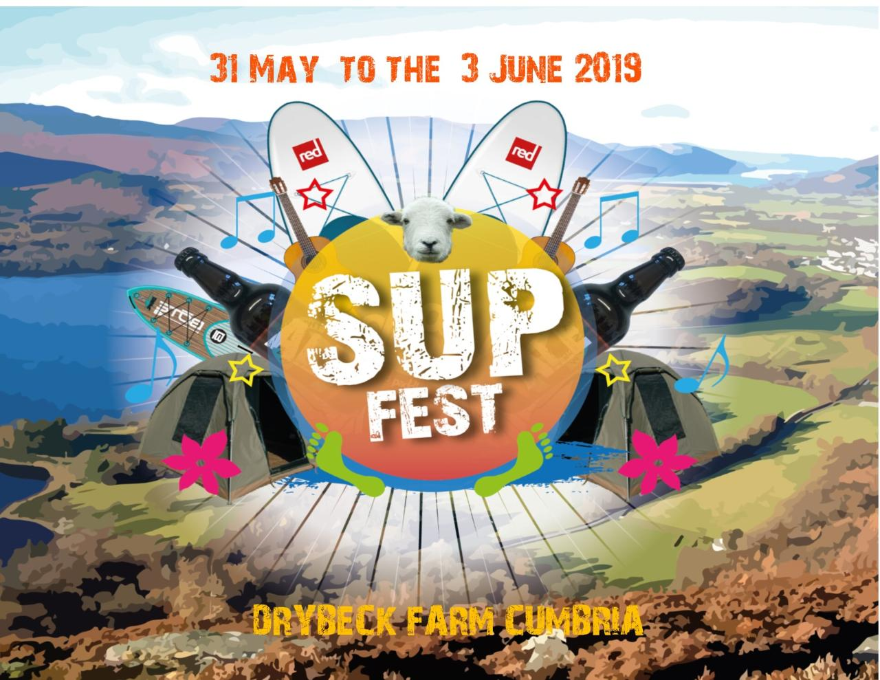 SUPFEST 31st May - 3rd June 2019