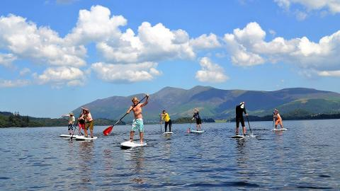 SUP Intro Lesson (Half day) Derwent Water