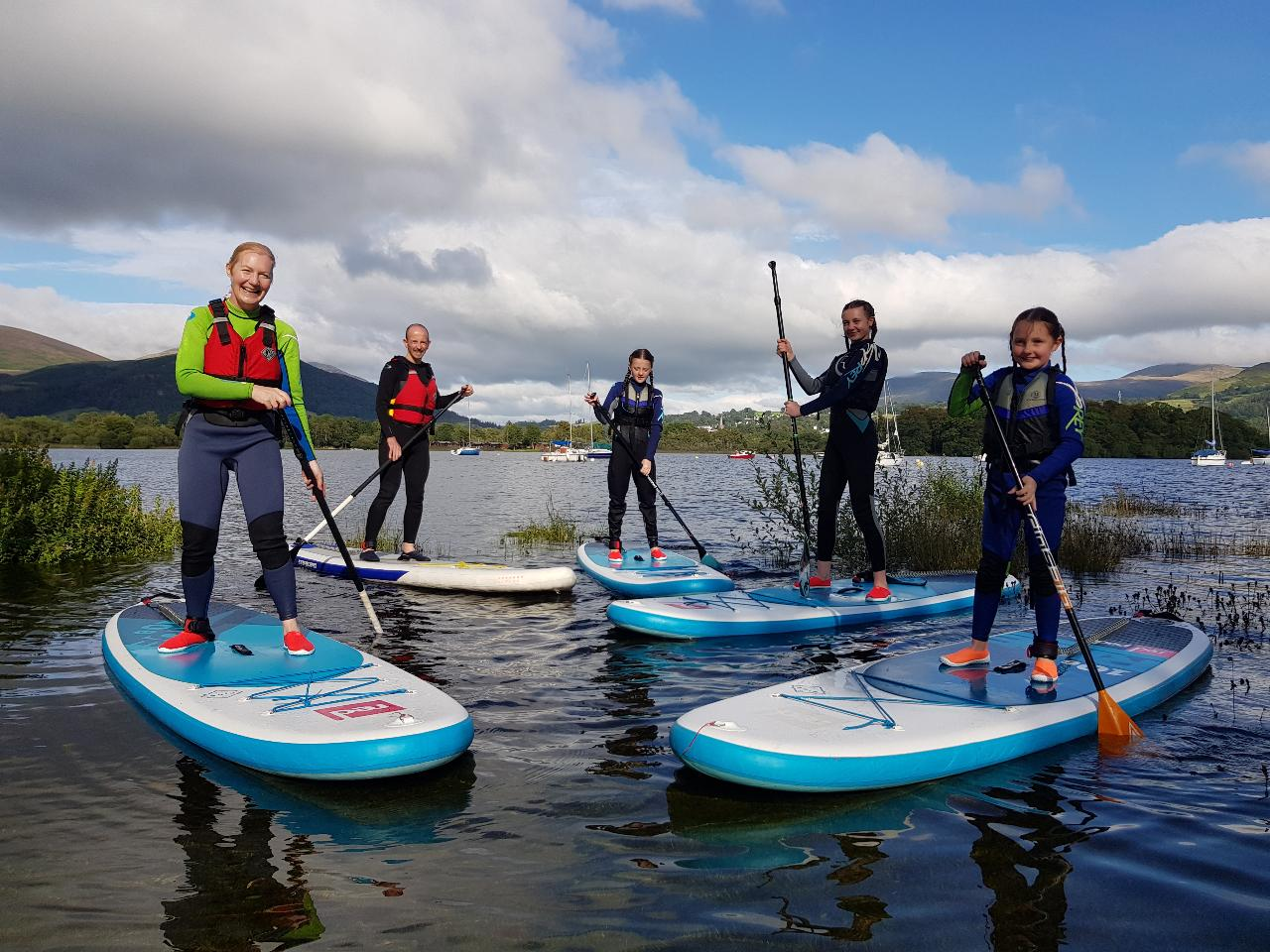Ullswater Private  SUP session