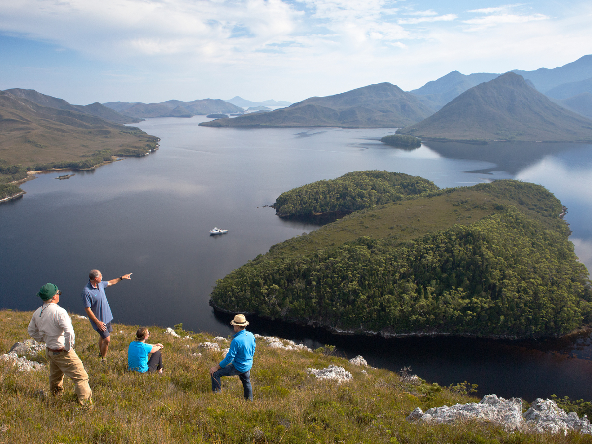ESCAPE TO PORT DAVEY // 4-Day expedition cruise in Southwest Tasmania // Standard Cabin