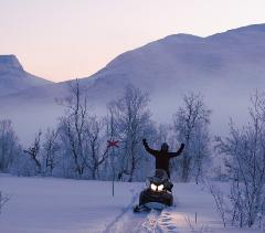 Great Outback Snowmobile Tour 4 h