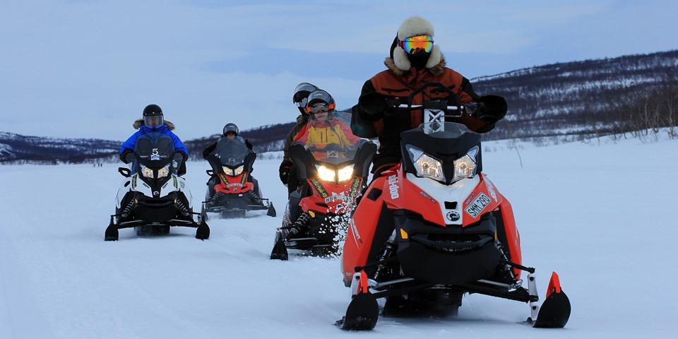 Panorama Snowmobile Tour 2 h