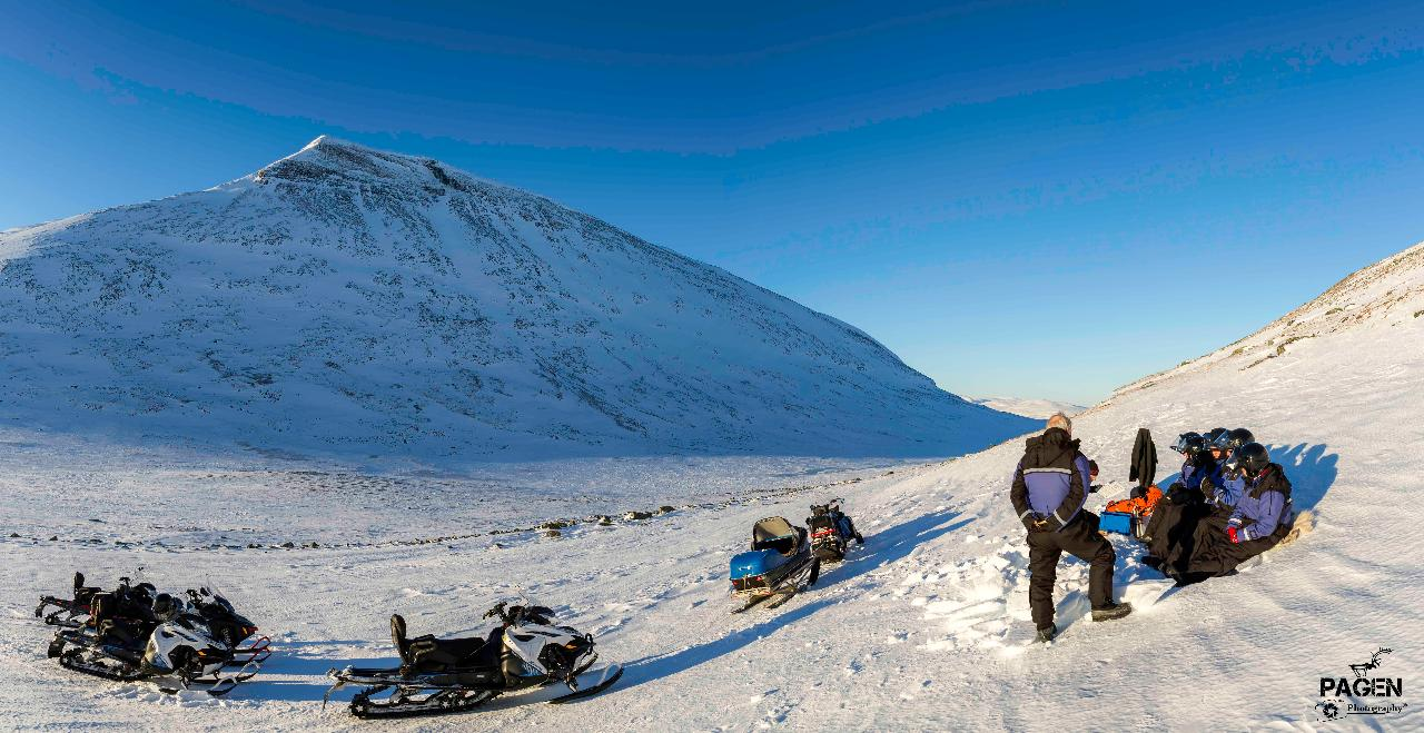 ABISKO - Snowmobile tour 4,5 h