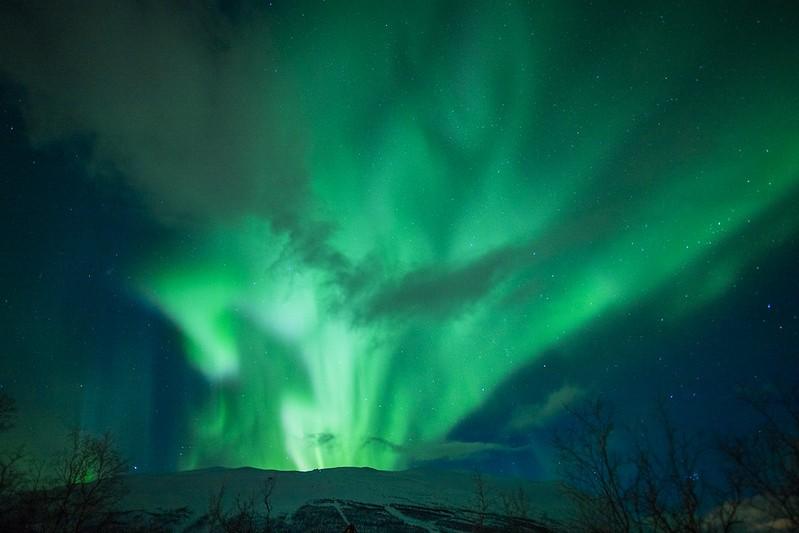 Aurora Sky Station Snowmobile Transfer