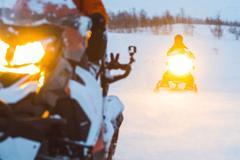 NATIONALPARK SNOWMOBILE TOUR