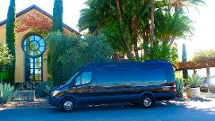 Mercedes Coach Style Sprinter for up to 14 Guests, with 6 Hour Minimum everyday at $105/Hr.