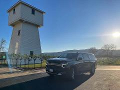 Black Car SUV Service, for up to 6 Guests @ $70/Hr. Mon. - Thu. or  @ $75/Hr. Fri. - Sun/Holidays, all with a 6 Hour Minimum.