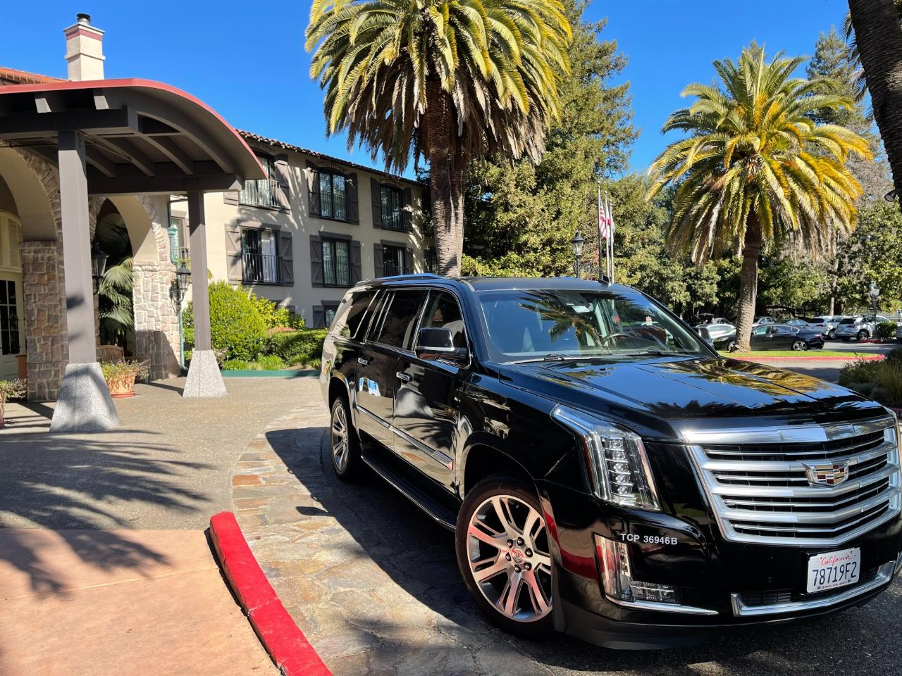 Cadillac Escalade Service, for up to 6 Guests @ $85/Hr. everyday with a 6 Hour Minimum.