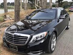 Mercedes S550 Executive Sedan( Seats 3 guests ) with a 6 Hour Minimum @ $90/Hr Everyday.