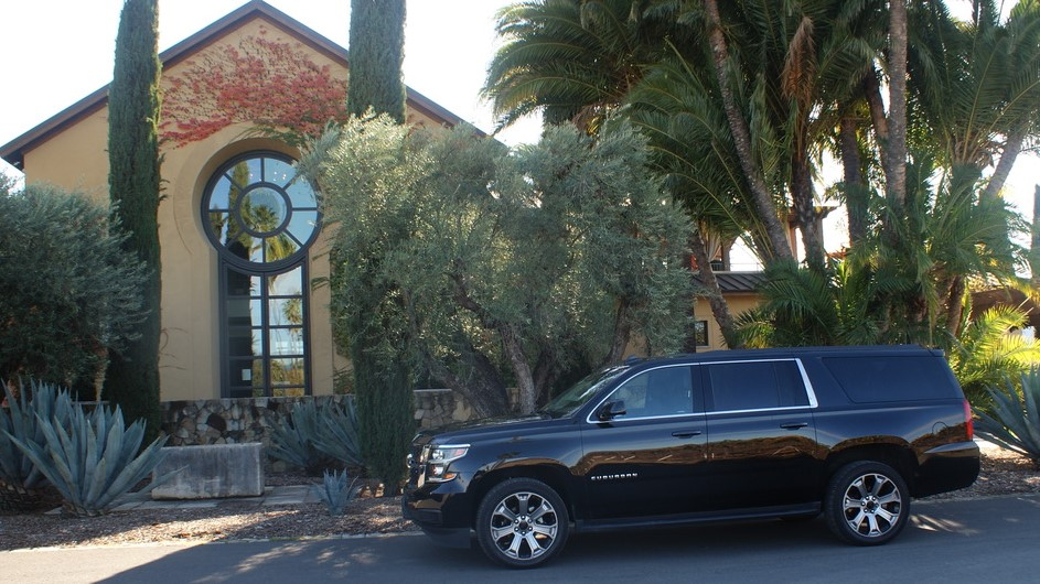 Standard SUV Special Service Rate for up to 6 Guests @ $55/Hr. Mon. - Th. or  @ $60/Hr. Fri. - Sun/Holidays, all with a 6 Hour Minimum.
