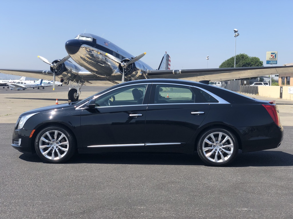 Black Car Sedan, Seats 3 guests with a 6 Hour Minimum @ $60/Hr. for Mon-Thu. and $65/Hr for Fri-Sun.