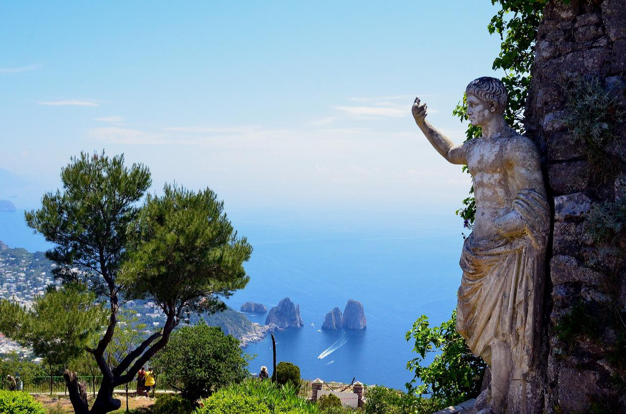 # A-004 From Naples to Capri, Anacapri & Blue Grotto by boat and minibus