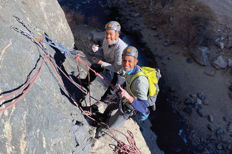 Climb Clear Creek Canyon