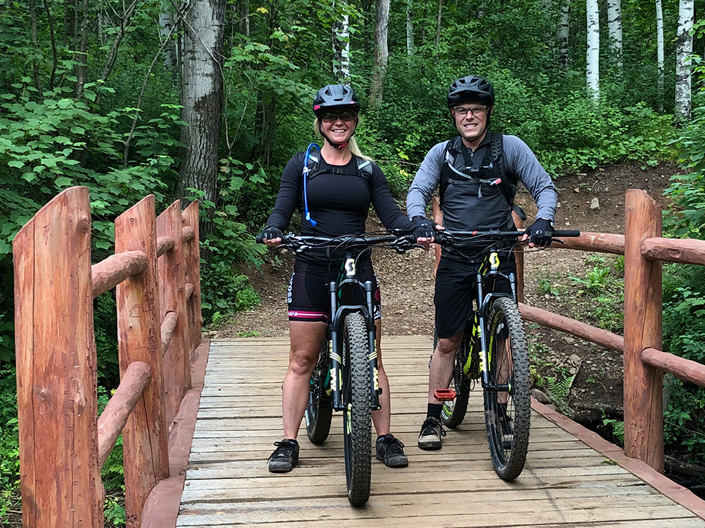 Private Duluth Traverse Mountain Bike Adventure