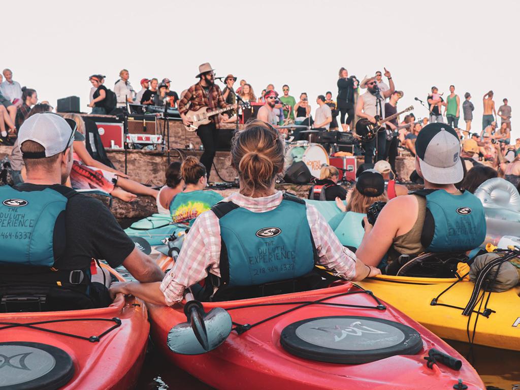 Glensheen Concert & Kayak Experience