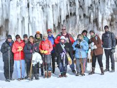 Apostle Lakeshore Ice Caves Adventure