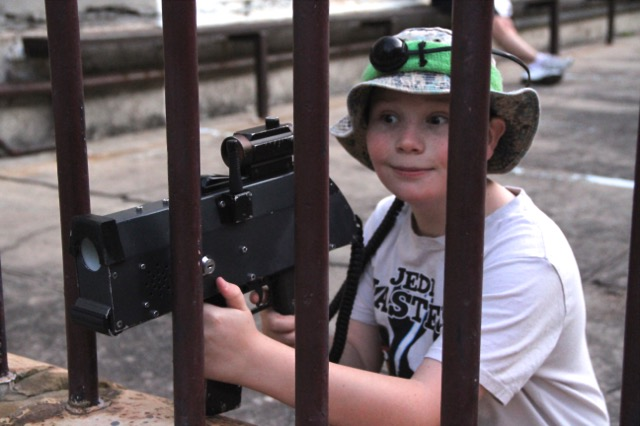 Family Fun - Basic Training - Maitland Gaol - Designed for under 12's including their families and friends.