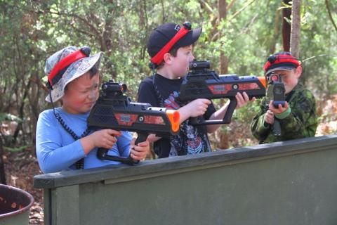 Family Fun - Basic Training - Salt Ash Weapons Range - Designed for under 12's including familes and friends.