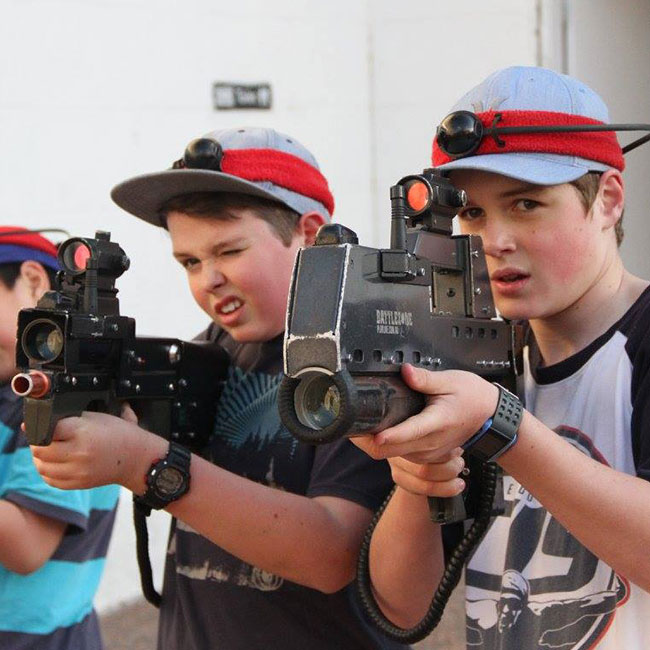 Family Fun - Call of Duty - Maitland Gaol - Designed for under 12's including families and friends.