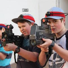 Family Fun Laser Tag - Call of Duty - Maitland Gaol - Designed for under 12's including families and friends.
