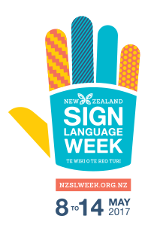 NZ Sign Language Tour - Sunday 14th May 2017