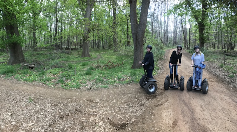 Segway Tour of Oak Valley Estate