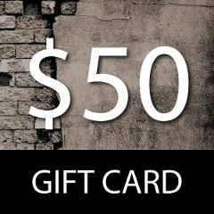 $50 Gift Card- WPG