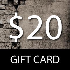 $20 Gift Card- Wpg