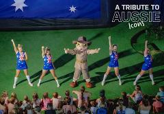 A Tribute to Aussie Icons: Dance Show & Hosted by Dusty - Location: Large Water Park Area.