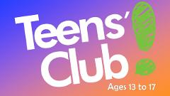 Teens' Club 4:15pm COMPLIMENTARY SESSION - Code: PRTEENS50