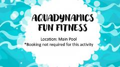 Aquadynamics Fun Fitness - Booking not required