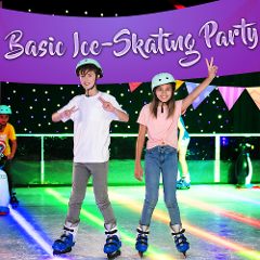Basic Ice-Skating Party (min. 10 Kids)