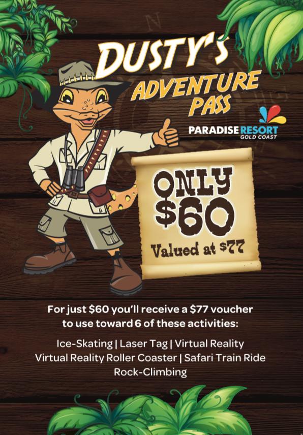 Dusty's Adventure Pass