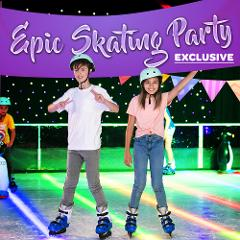Epic Chill Ice-Skating Party (up to 40 Kids)