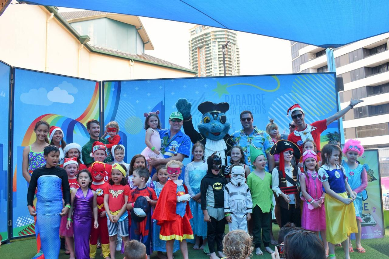 Captain Fancy Dress Parade - Location: Outdoor Stage - (BNR)