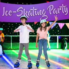 Frosted Ice-Skating Party (min. 10 Kids)