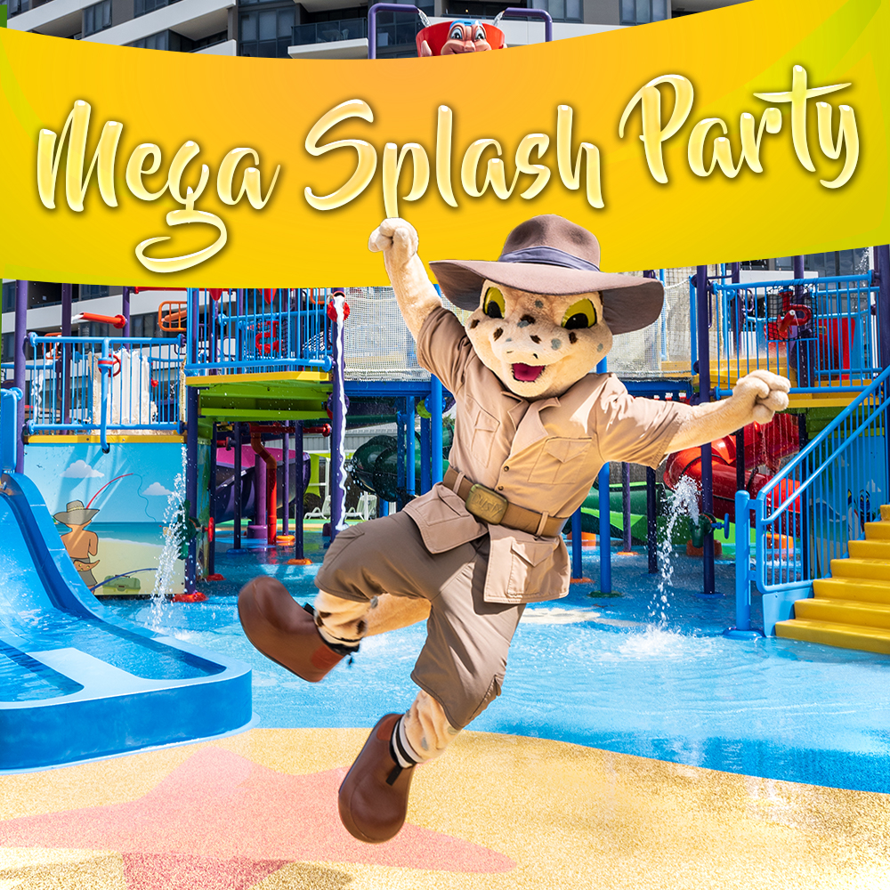 Mega Splash Waterpark Party (up to 40 Kids)
