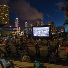 Outdoor Movie Night - Location: Outdoor Stage - (BNR)