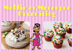 Cleo's Kitchen: Muffin or Meringue Decorating ($) - Location: Activities Hub