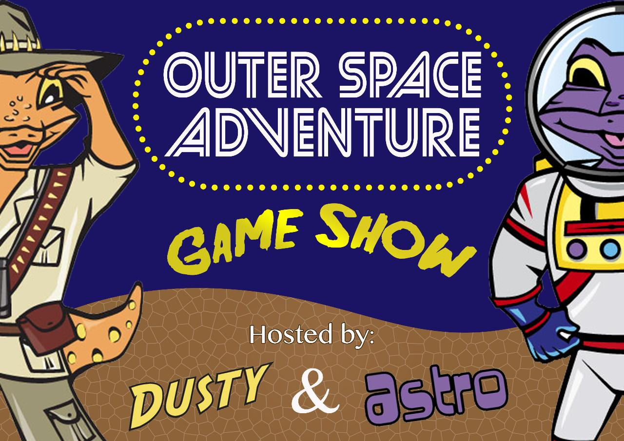 Outer Space Adventure Game Show - Location: Outdoor Stage - (BNR)