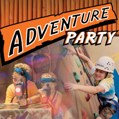 Adventure Party for 10 Kids