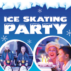Ice-Skating FROZEN Party (Up to 50 Guests)