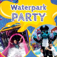 Waterpark Party for 10 Kids - (Basic Package)