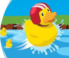 Duck Race - Location: Main Pool - (BNR)